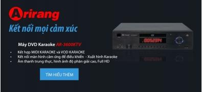 Đầu DVD karaoke 5 số AR-3600KTV