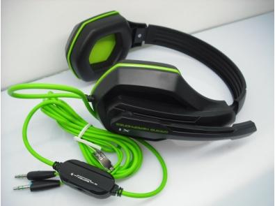 Tai nghe chụp tai Ovann X1 Gaming (Đen phối Xanh) nghe hay