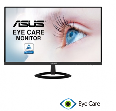 """Màn hình vi tính 23,8"""" ASUS VP249H / LCD-IPS/ 1920x1080/ 16:9/ 1000:1, /chống lóa. / kết nối HDMI, D-Sub, 2 loa. Cable VGA, cable âm thanh, không viền"""
