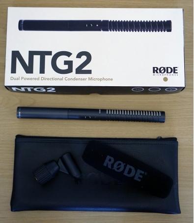 RODE NTG-2 Dual Powered Shotgun Condenser Microphone