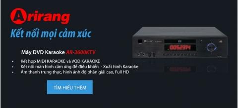AR-3600KTV