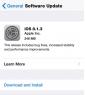 Apple phát hành bản cập nhật iOS 8.1.3